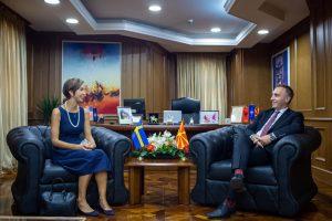 Zv. Kryeministri i parë Grubi takoi ambasadoren suedeze Bengtsson: Gëzojmë përkrahje të fuqishme nga Mbretëria Suedeze