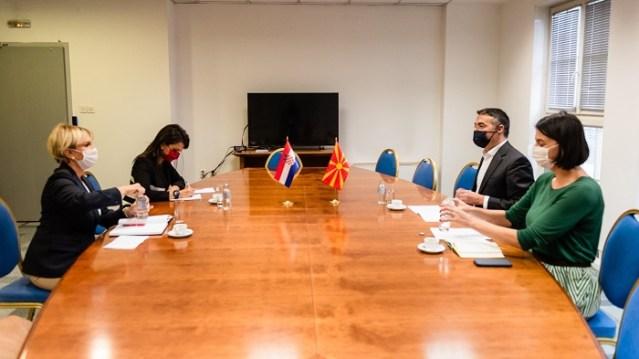 Takim i ZKQ Dimitrov me ambasadoren  kroate Tiganj