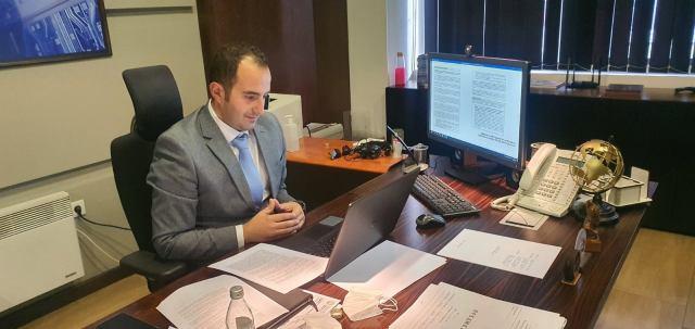 Ministri Shaqiri takim online me SIGMA/OECD, temë e bisedës bashkëpunimi mes tyre