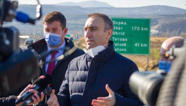 Grubi, Boçvarski dhe Rustemi nesër do të vëzhgojnë punimet në rrugën Shkup-Bllacë