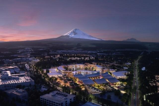 Shikoni qytetin futuristik të Toyota-s në Japoni