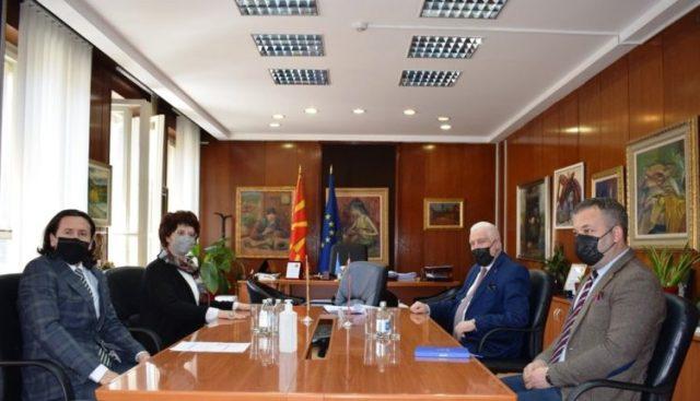 Zv.Ministri i Kulturës Sulejmani priti në takim ambasadorin e Shqipërisë në Maqedoni, z.Fatos Reka