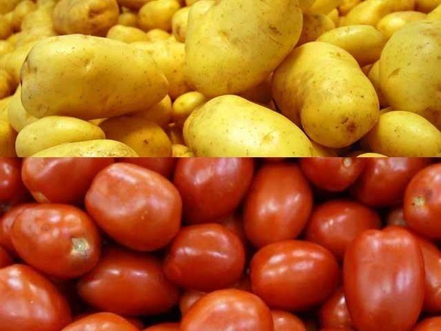 چینی، ٹماٹر اور آلو کے سنچری بنانے کے ساتھ ہی مرغی کے گوشت کا ٹرپل سینچری عبور ہونے کا سلسلہ برقرار