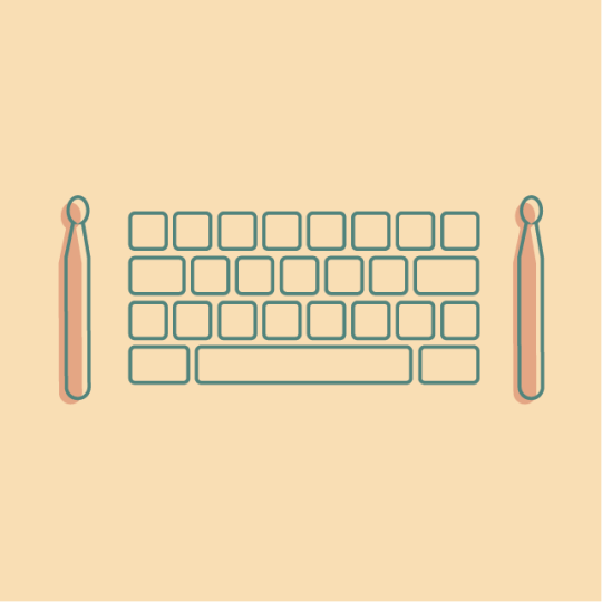 Typedrummer – ASCII Beats