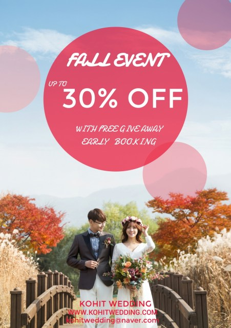 Fall Korea Pre Wedding 2018 Kohit Wedding