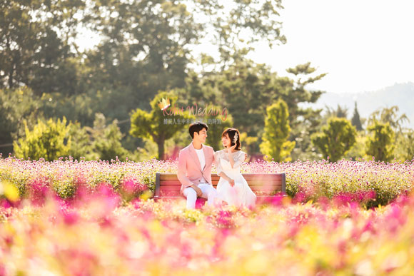 Nadri studio outdoor kohit wedding-korea pre wedding photo