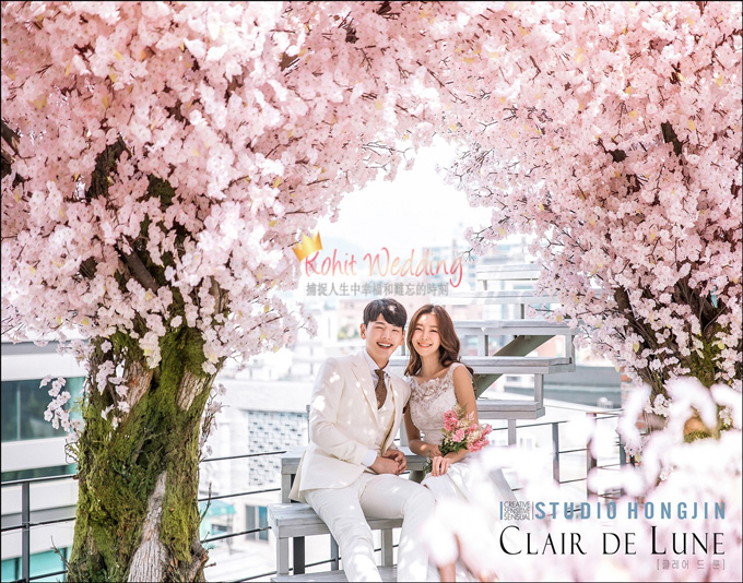 Flower Moon- Kohit Wedding korea prewedding 25