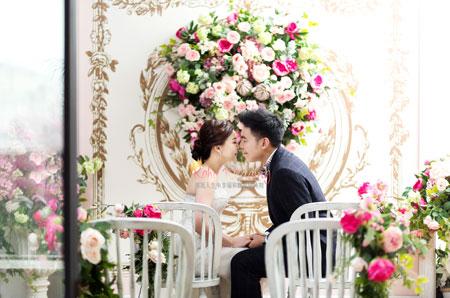 korea wedding photoshoot photo of real customer