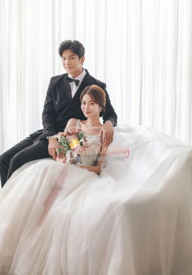Wedding photoshoot in Korea