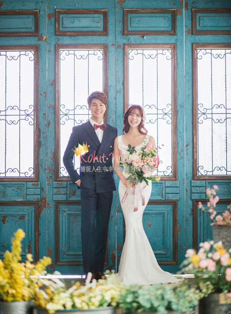 Kohit wedding prewedding in Korea - Nadri studio 24