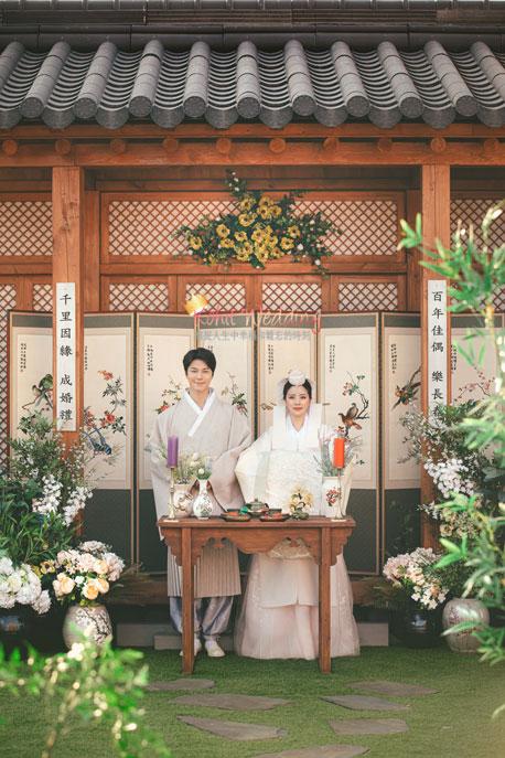 Kohit wedding prewedding in Korea - Nadri studio 42