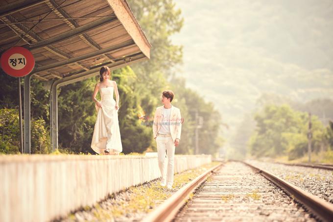 Kohit wedding prewedding in Korea - Nadri studio 51