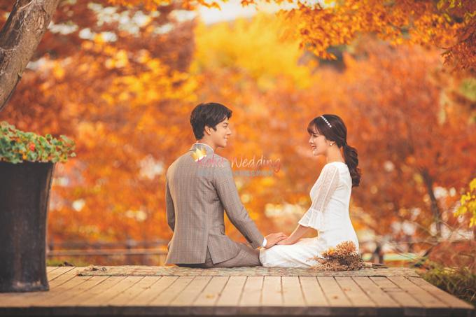Kohit wedding prewedding in Korea - Nadri studio 58