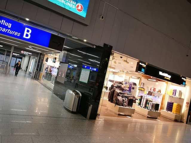 RIMOWA スーツケース フランクフルト空港 ワールドショップ