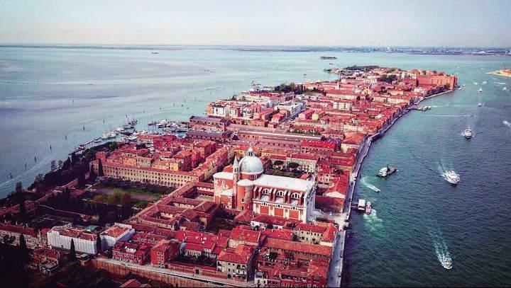 海外旅行 空撮 ドローン ベネチア