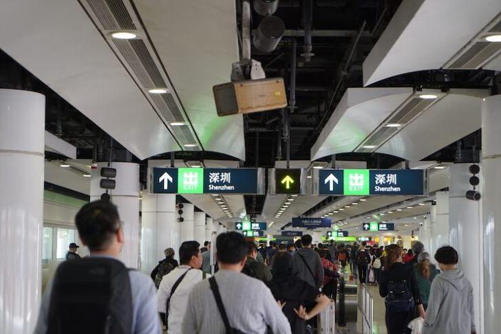 香港から深センへの行き方