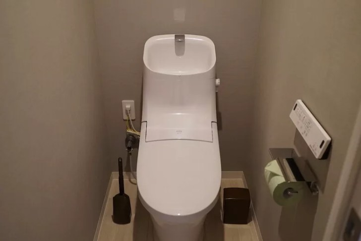 OYO LIFE オヨライフ レビューブログ マンション 部屋 トイレ