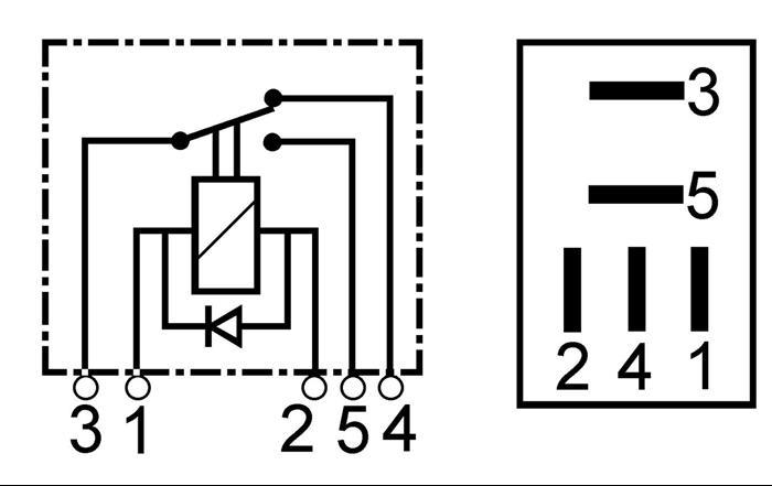 Relais 12 Volt 15 Ampere 25 Ampere Wehrle E