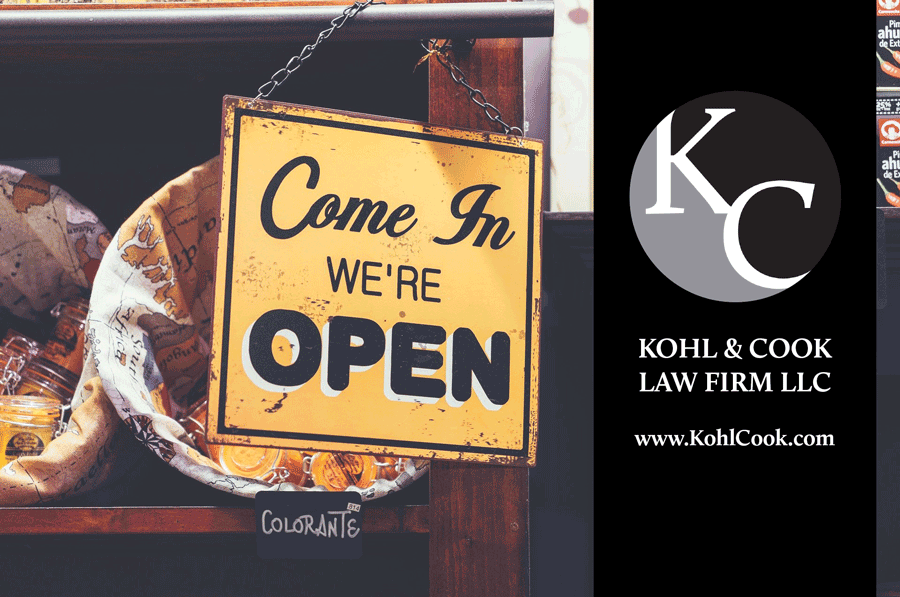 business representation for new businesses in ohio at kohl cook law