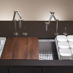 Kohler Kitchen Sink Accessories White Distressed Table Fitted