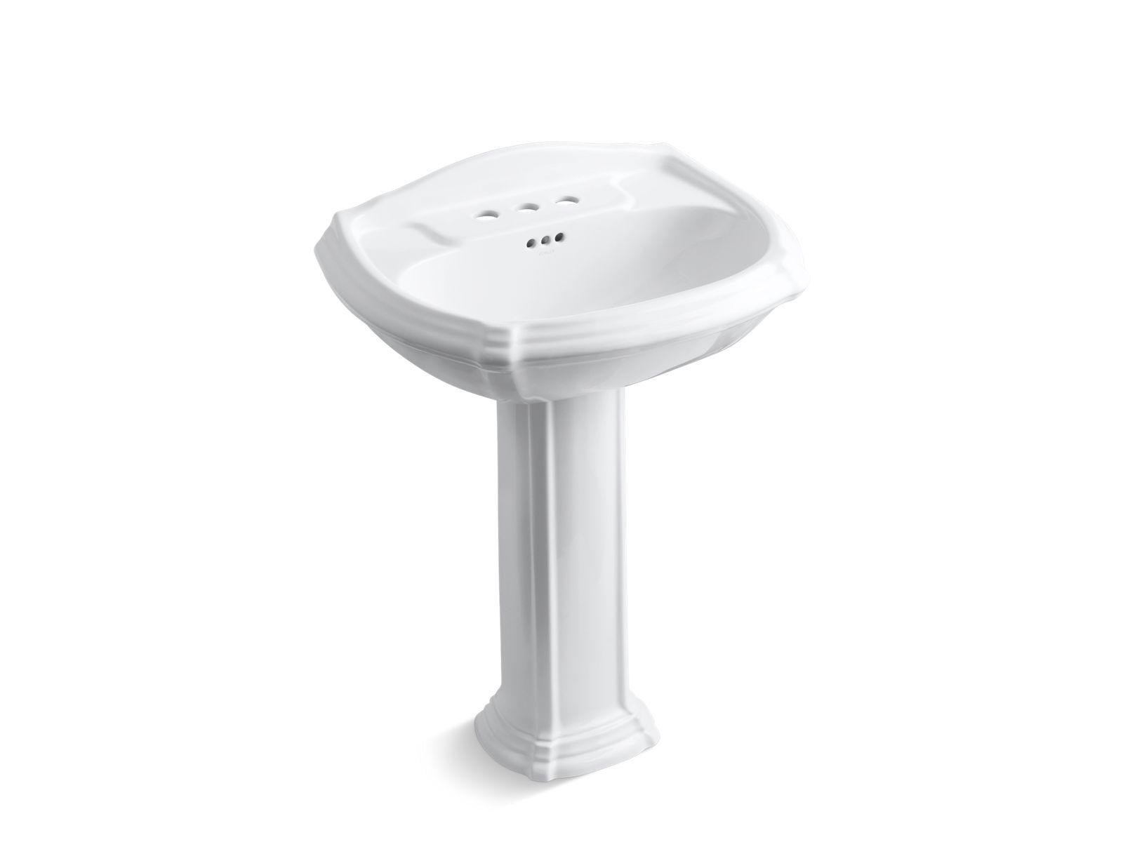 k 2221 4 portrait pedestal sink with