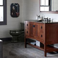 60 Inch Kitchen Sink Base Cabinet Three Piece Sets Bathroom Sinks   Kohler