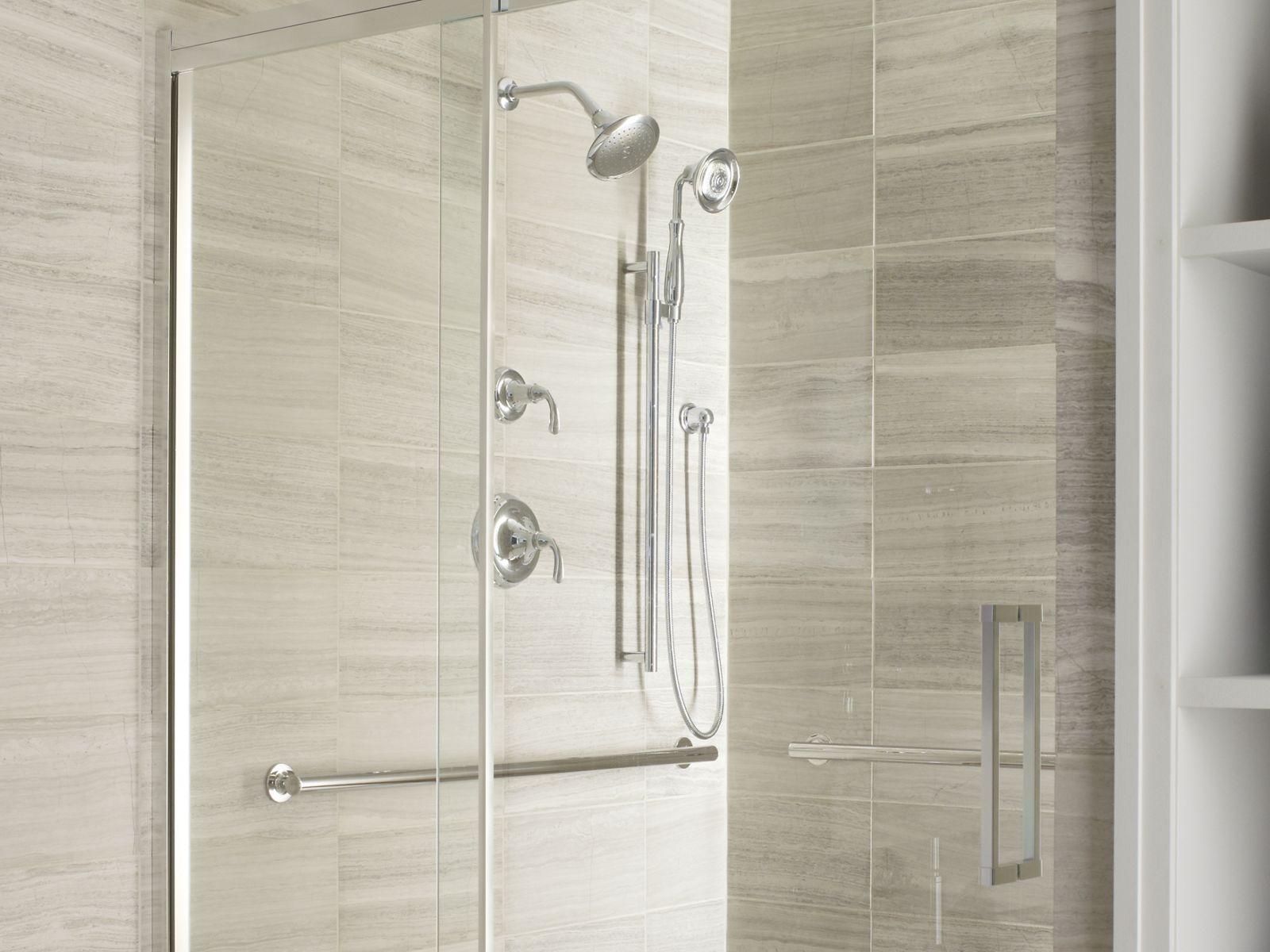 Shower Space Walls  Bases Guides  Bathroom  KOHLER