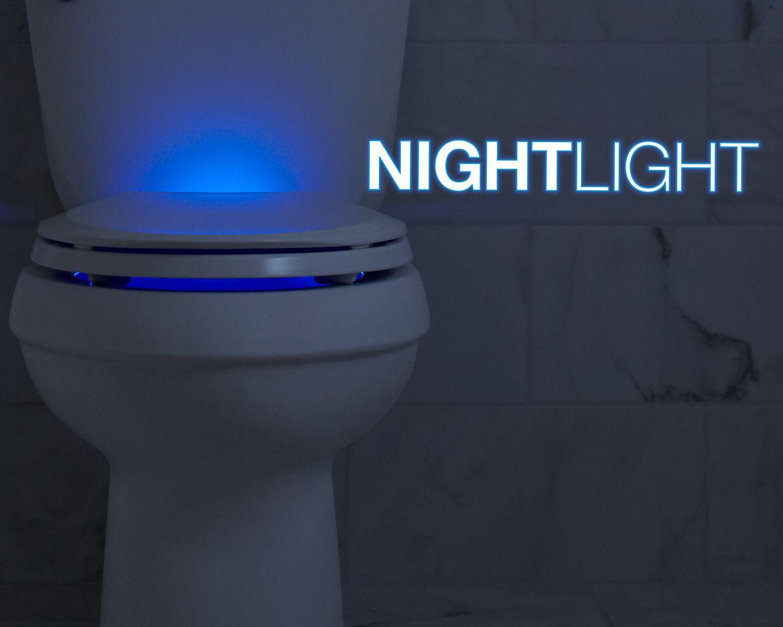 Nightlight  Lighted toilet seats by Kohler  KOHLER