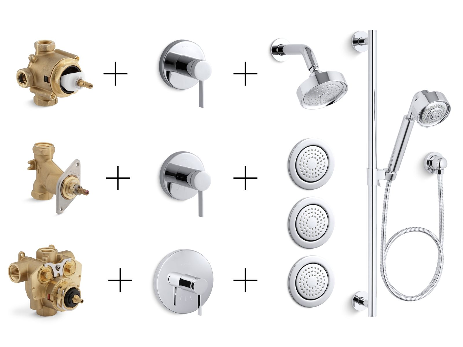 shower valves trims controls guide