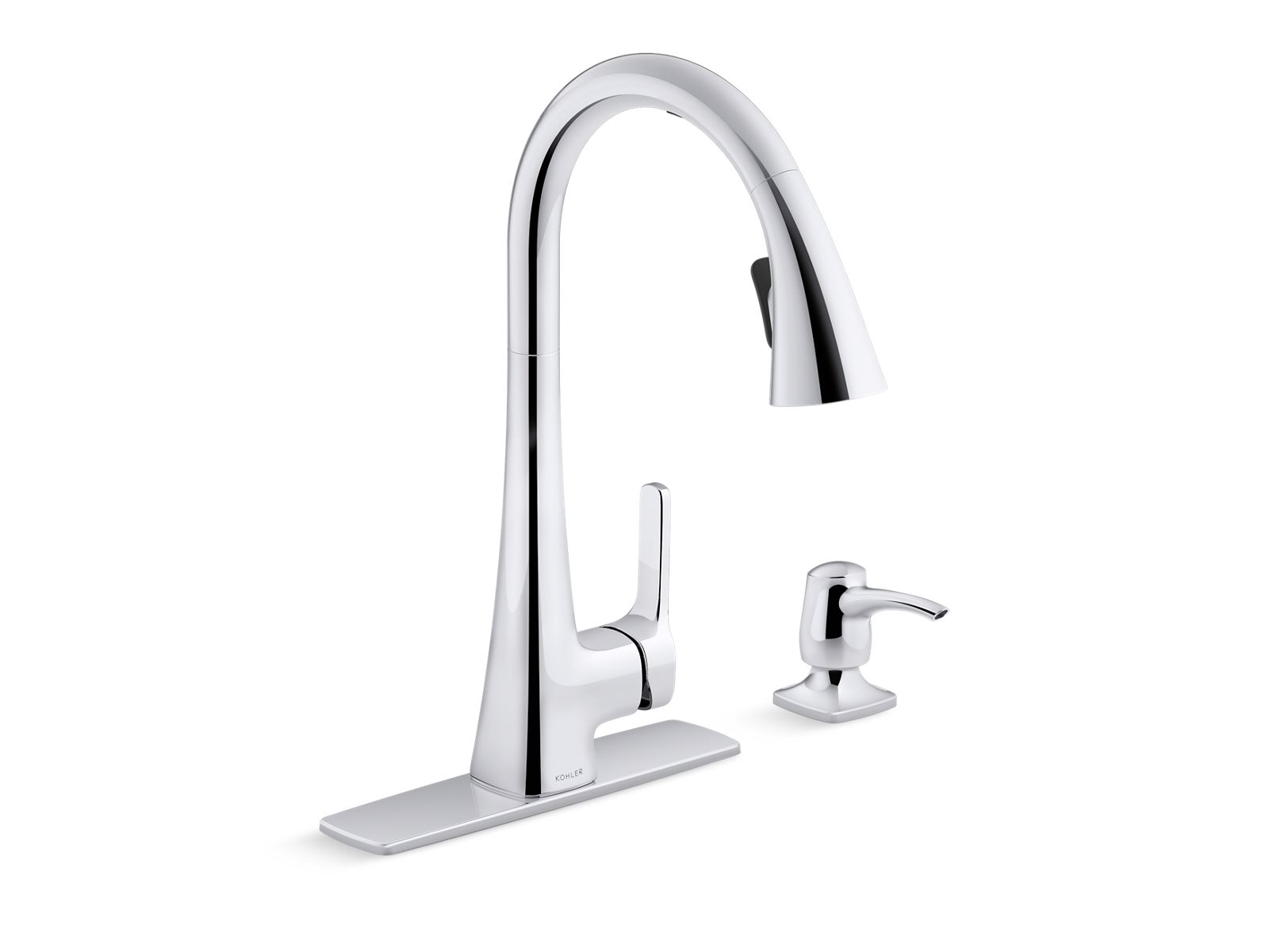 k r26281 sd maxton touchless pull down kitchen faucet kohler