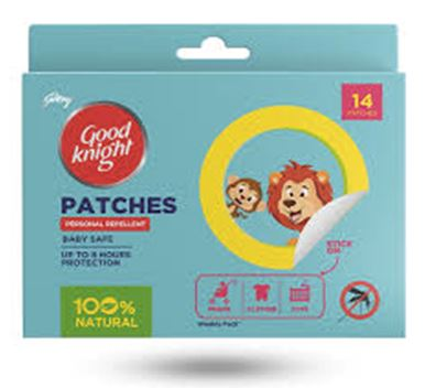 Good Knight Mosquito Repellent - Patches for Babies