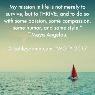 Hello 2017 and #WordOfTheYear