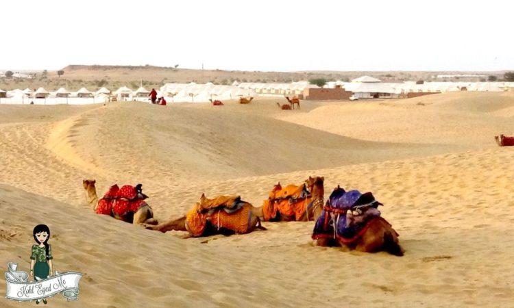 Jaisalmer-Camel Safari- Camel Ride- Sand Dunes