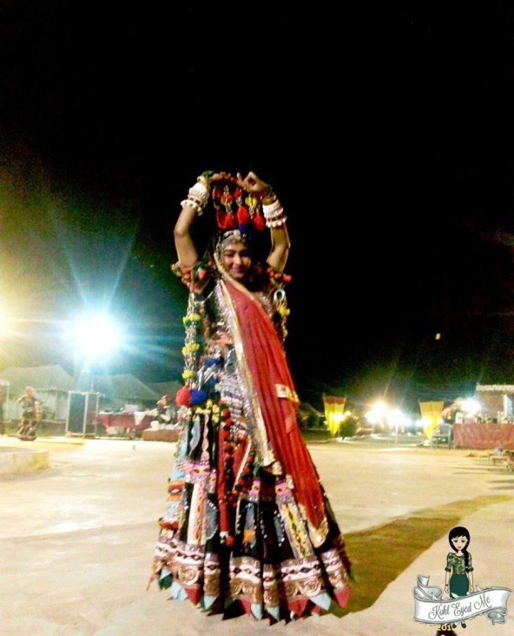 Jaisalmer - Rajasthani Folk Dance - Ghoomar- Rajasthani Music - Sand Dunes