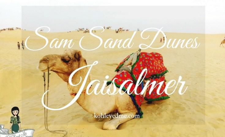 Camel safari Sama Sand Dunes Jaisalmer Rajasthan