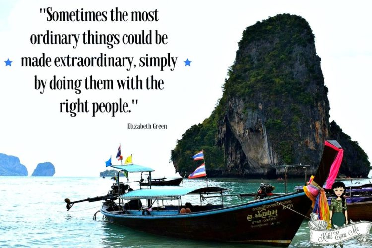 Bucketlist - Travel quotes - Krabi - Thailand - Long tail boat