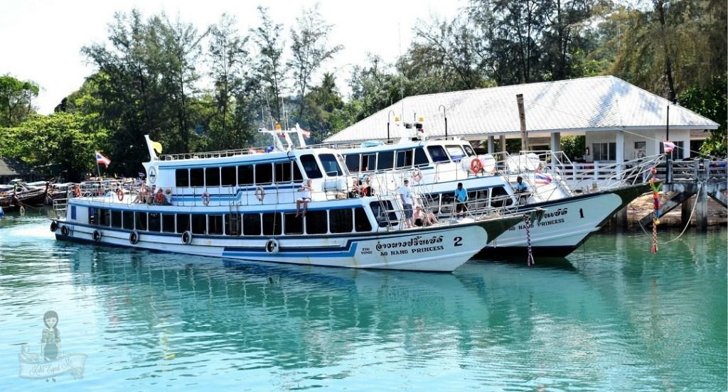 Phuket to Ao Nang Krabi Ferry