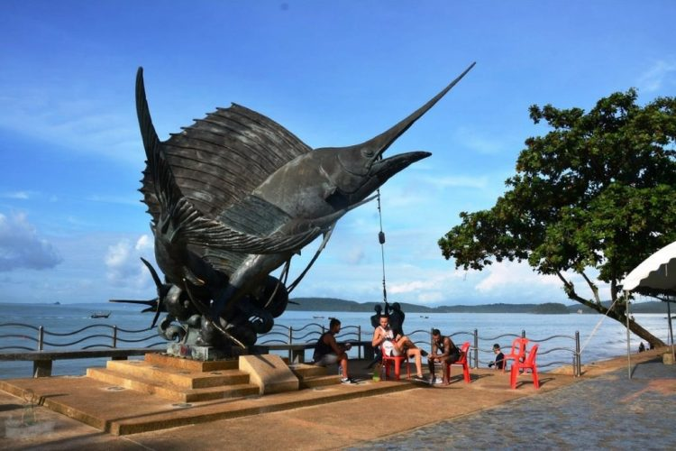 Ao Nang Marlin Statue - Ao Nang Swordfish Statue
