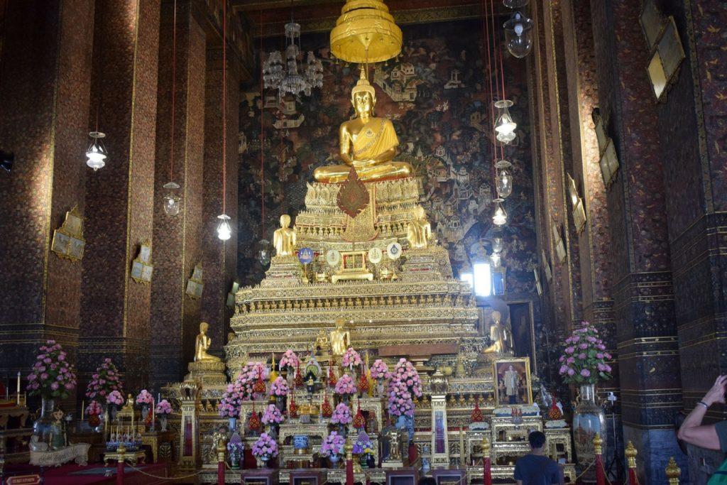 At Wat Pho bangkok Thailand