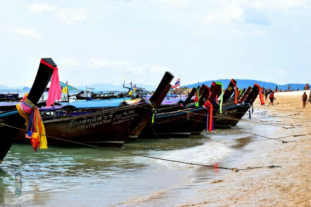 Long Tail Boats - Krabi - Ao Nang Long Tail Boat Thailand
