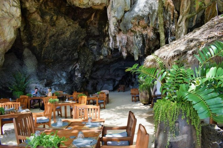 The Grotto Rayavadee Restaurant Images