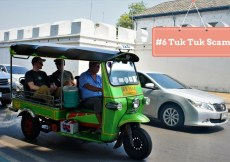 Tuk Tuk Scam in Thailand