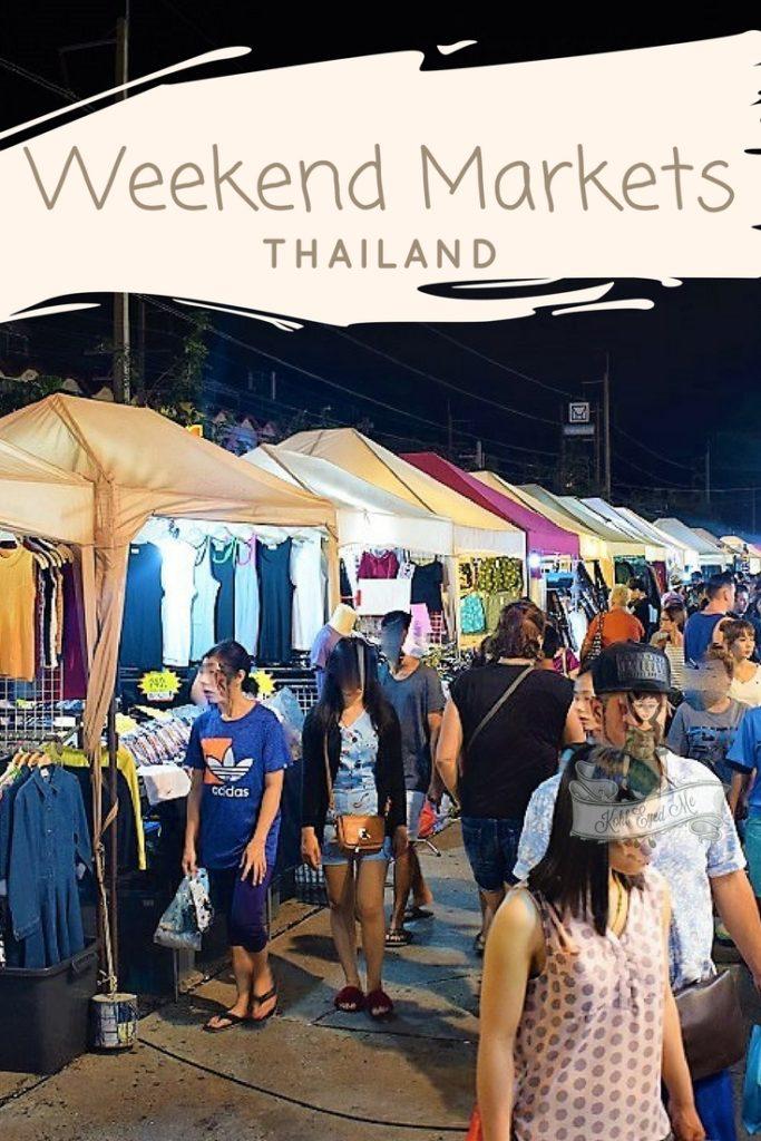 Weekend Market Thailand Pinterest