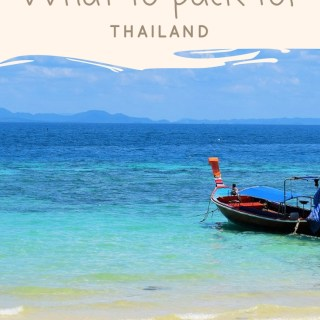 Let's make a List! Thailand Packing List