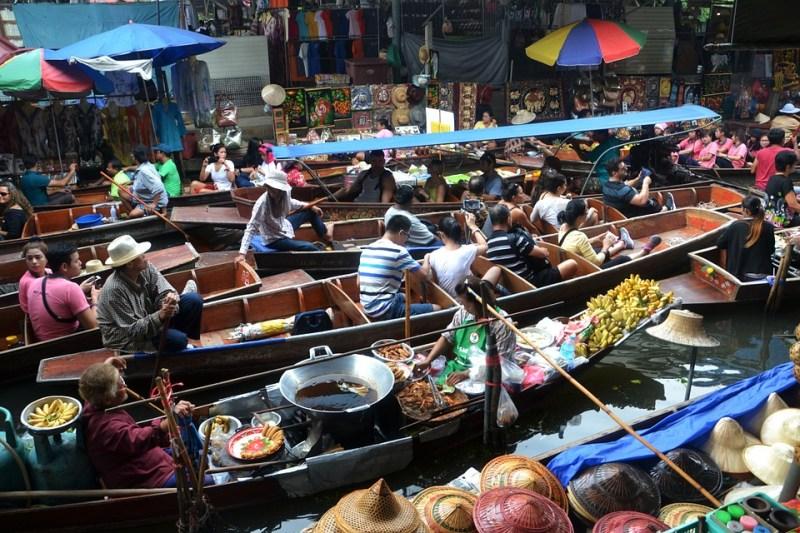 Floating Market Thailand Images