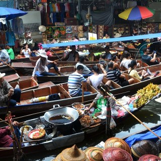 Floating Market Thailand Images