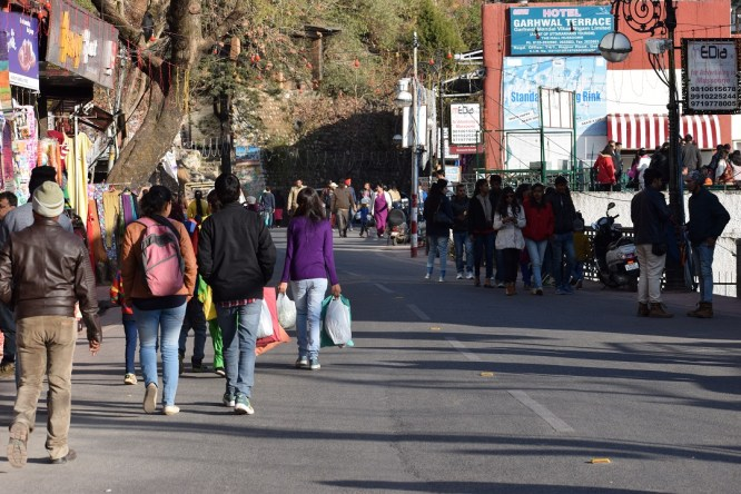 Mall Road Mussoorie