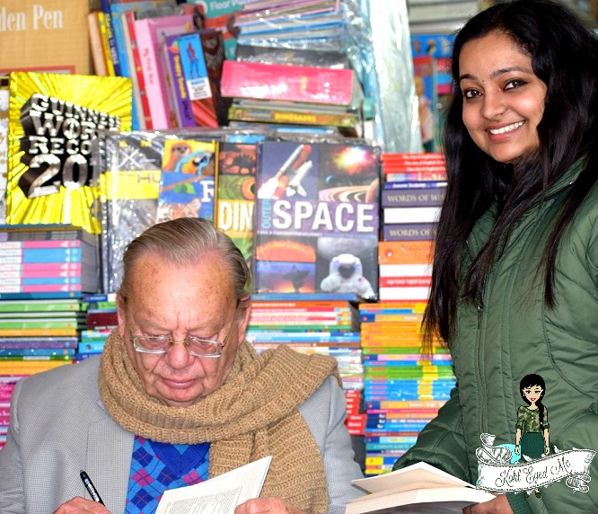 Meeting Ruskin Bond at Mussoorie