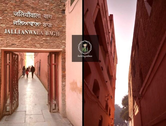 Jallianwala Bagh Entrance kohleyedme.com