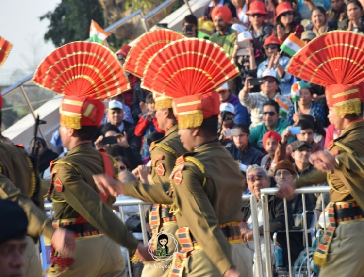 Wagah Border March Parade kohleyedme.com
